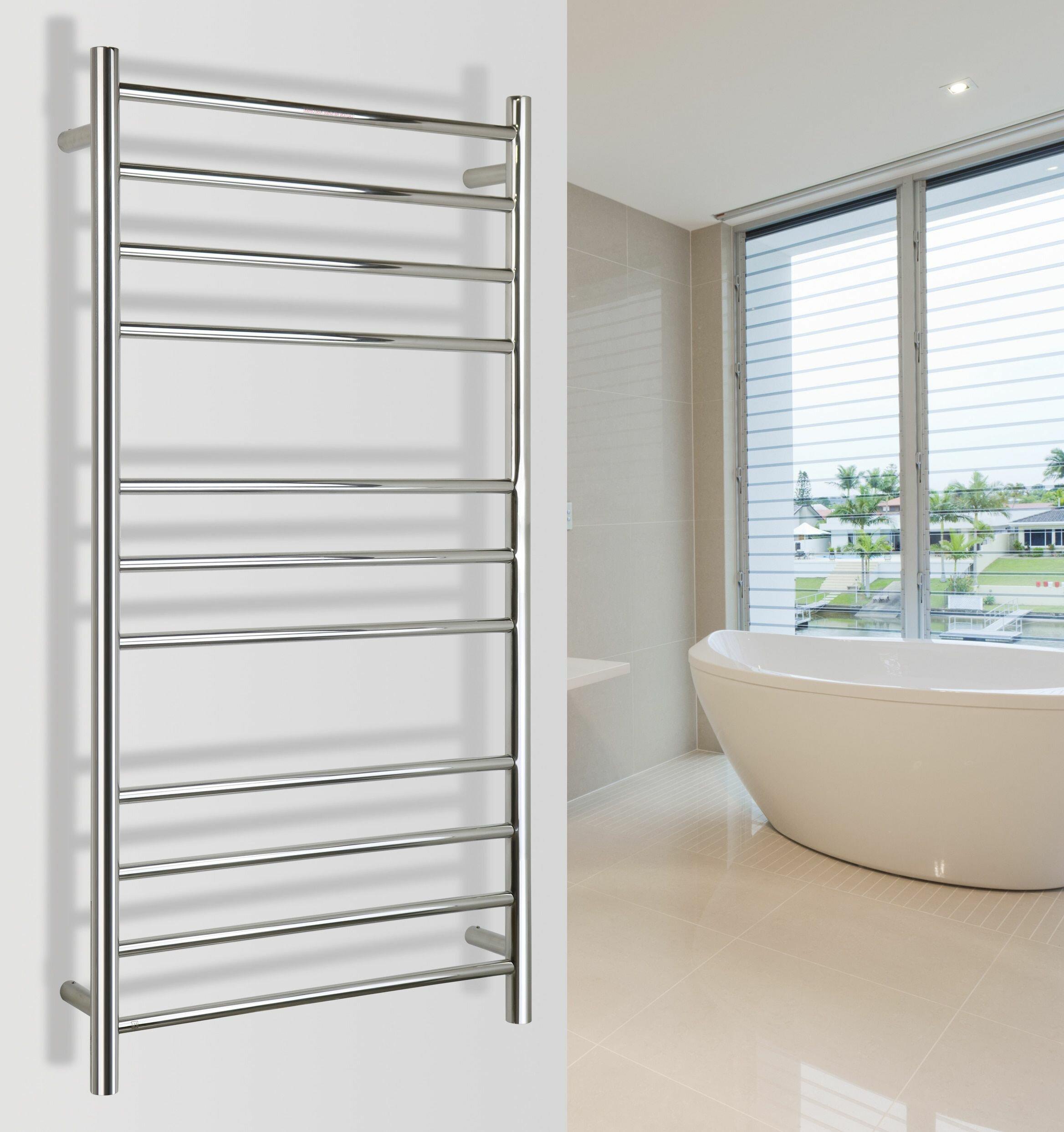 WarmlyYours 4-Bar Towel Warmer