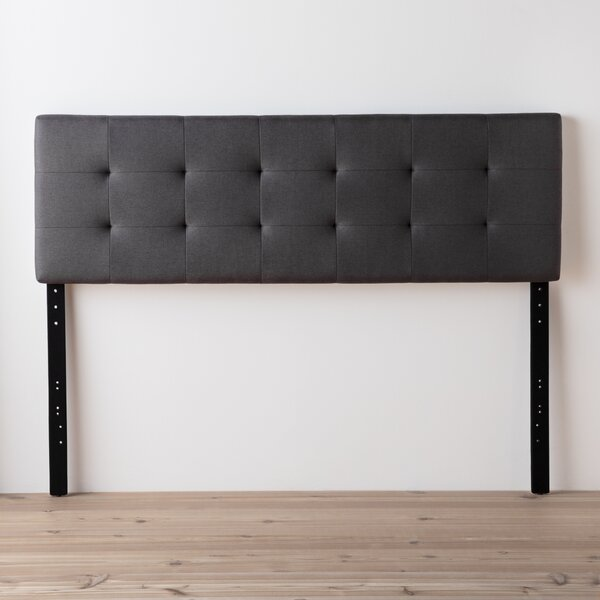 Cy Square Tufted Upholstered Panel Headboard by Andover Mills™