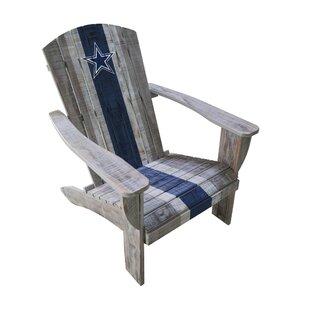 NFL Wood Adirondack Chair