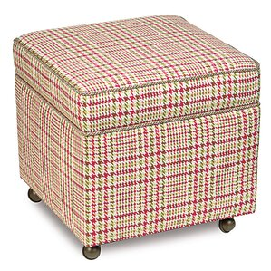 Portia Cube Ottoman by Eastern Accents