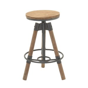 Adjustable Height Bar Stool by Cole & Grey