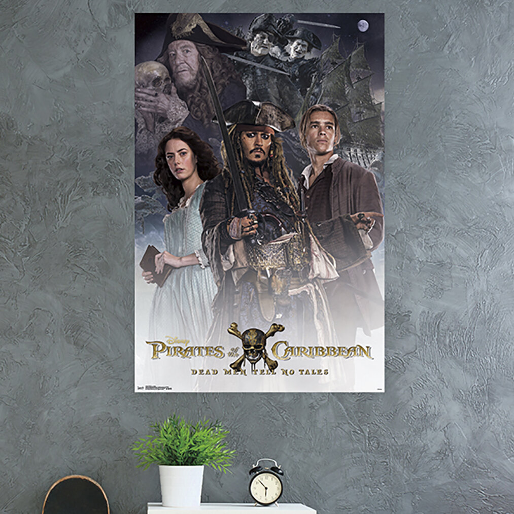 Trends International Pirates Of The Caribbean Dead Men Tell No