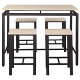 Caidy 5 - Piece Counter Height Dining Set by Latitude Run®