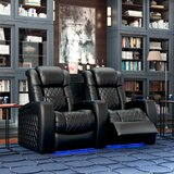 Continental HR Series Curved Home Theater Recliner (Row of 2)
