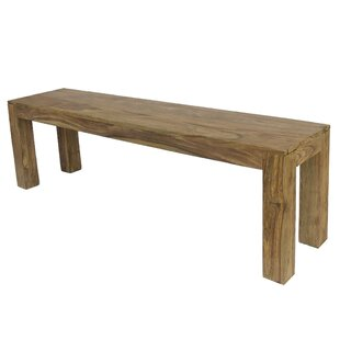 Agnes Wood Bench By Gracie Oaks
