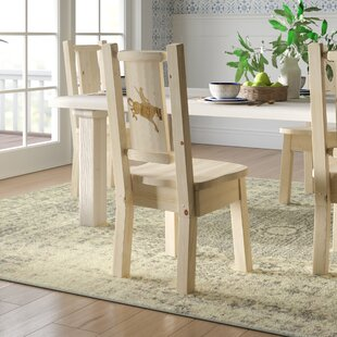Find Abella Slat Back Solid Wood Dining Chair by Loon Peak