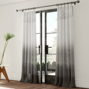 Grey Ombre Curtains Wayfair