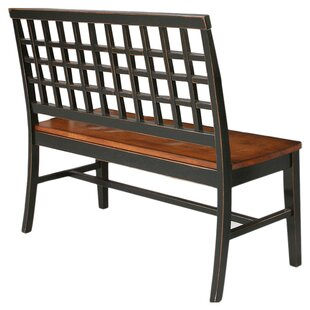Darby Home Co Espy Two Seat Bench