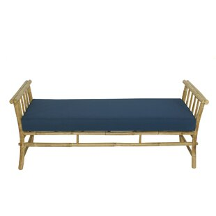 Bay Isle Home Grosvenor Bamboo Patio Daybed with Mattress