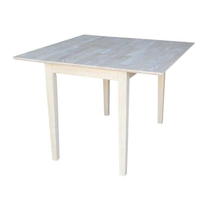 Wembley Drop Leaf Solid Wood Dining Table