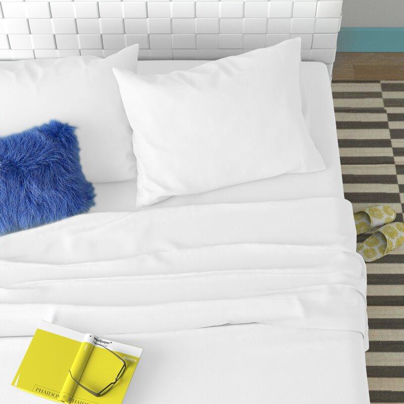 Wayfair Basics 100 Cotton Flannel Sheet Set Reviews Wayfair