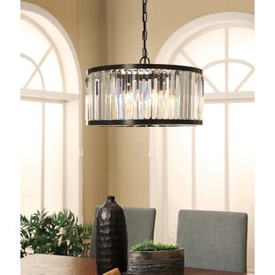 Buy clear Overton Round 4-Light Crystal Chandelier By Mercer41