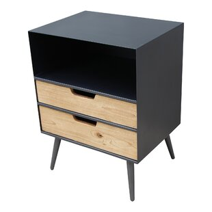 Wrought Studio Isolda End Table with Storage