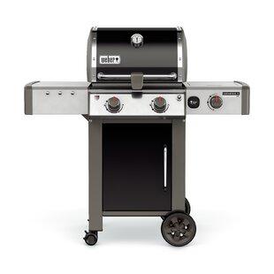 Genesis II LX E-240 2-Burner Natural Gas Grill with Side Burner by Weber