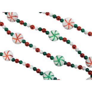 sweet tooth bead garland - Christmas Beaded Garland Decorations