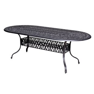 Thurston Aluminum Dining Table