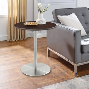 Terneuzen Pedestal End Table by Orren Ellis