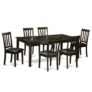 Henley 7 Piece Extendable Dining Set by W..