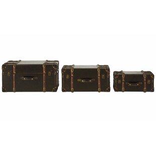 Manchester 3 Piece Storage Trunk Set