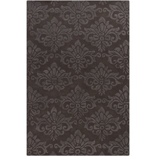 Reina Natural Brown/White Area Rug By Rosdorf Park