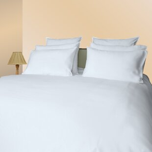 Gerri 300 Thread Count Solid Color 100% Cotton Sateen Sheet Set