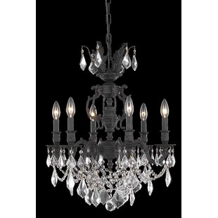 Astoria Grand Canary 6-Light Candle Style Chandelier