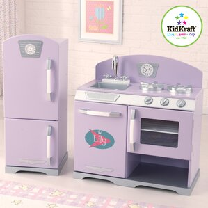 Kidkraft Kitchen White play kitchen sets & accessories | wayfair