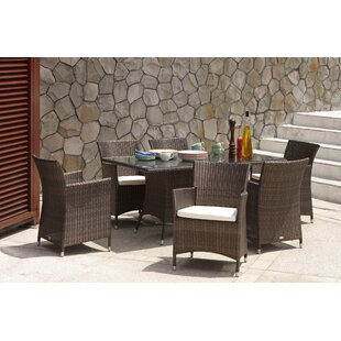 Larrison Rattan Dining Table By Sol 72 Outdoor