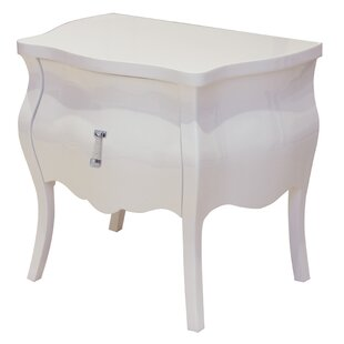 Darby Home Co Mackinaw 2 Drawer Nightstand
