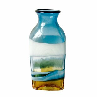 Miletus Decorative Glass Table Vase by Jeco Inc. Today Sale Only