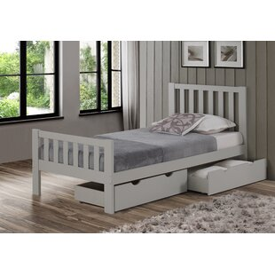 Find for Crescent Twin Platform Bed with Drawers ByHarriet Bee