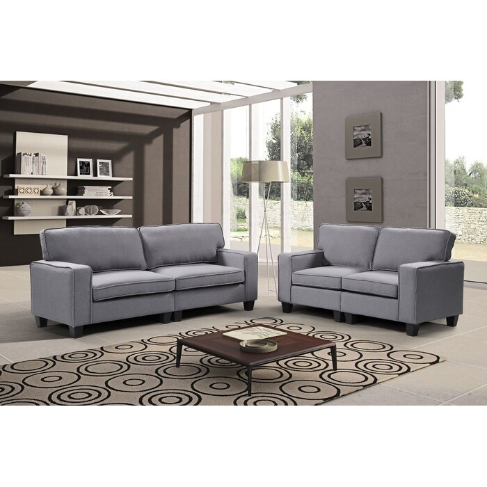 Awe Inspiring Jayapura 2 Piece Living Room Set Gmtry Best Dining Table And Chair Ideas Images Gmtryco
