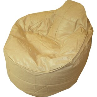 Faux Leather Palm Bean Bag Chair By Brayden Studio