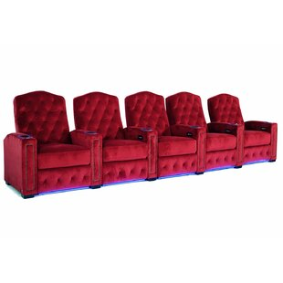 HR Series Home Theater Recliner (Row of 4) by Winston Porter