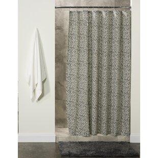 Order Lotus Cotton Shower Curtain ByGracie Oaks