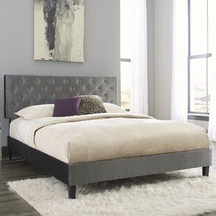 Leday Upholstered Panel Bed by Mercer41