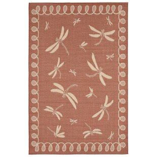 Clatterbuck Rust Indoor/Outdoor Area Rug