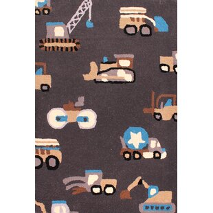 Trucks Assorted Rug by Longweave