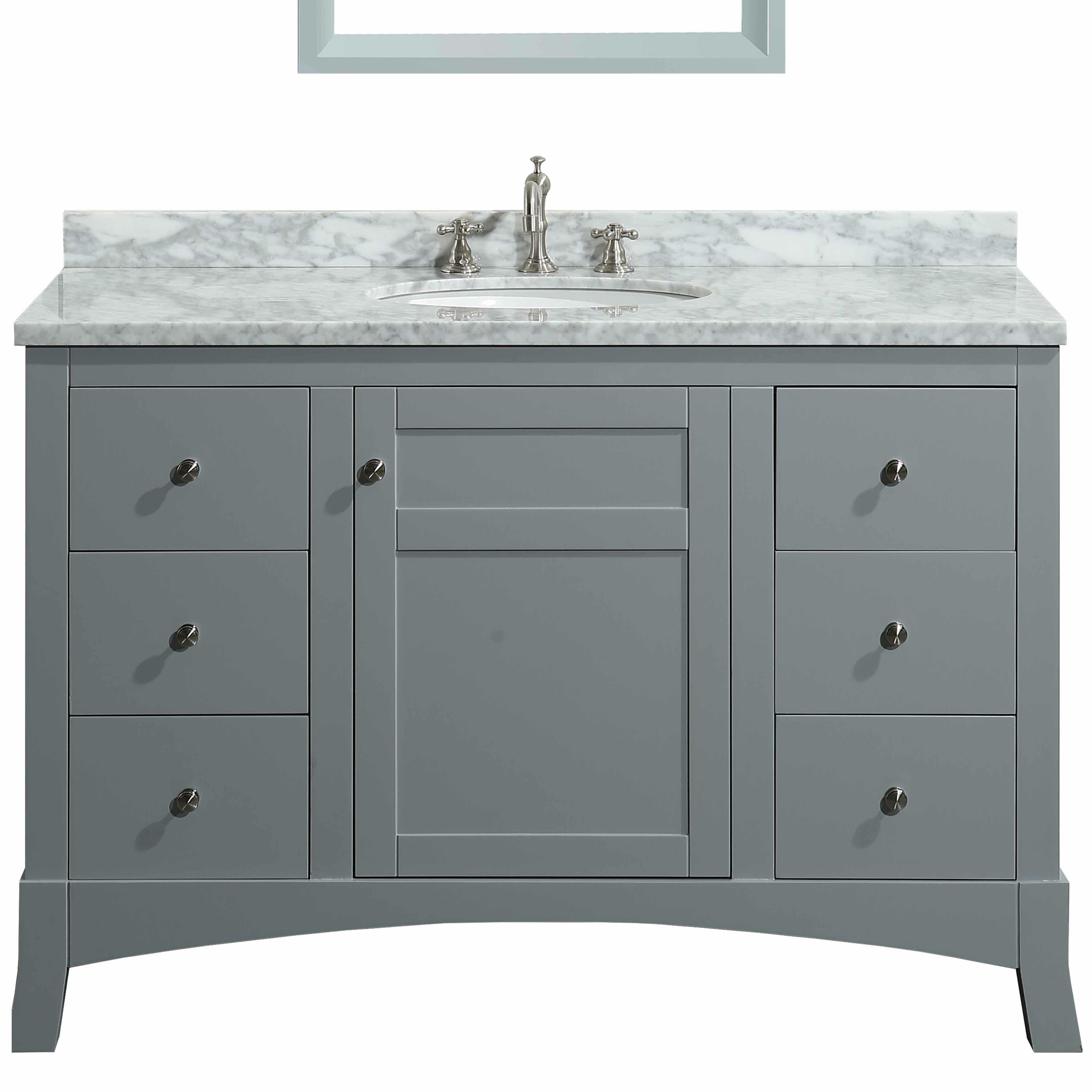 Eviva New York 42 Single Bathroom Vanity Set Perigold