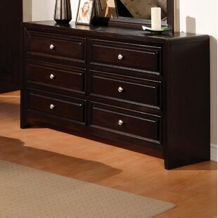 Winsor 6 Drawer Double Dresser