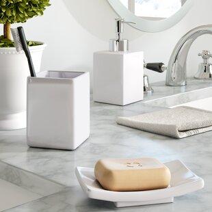 Compare & Buy Wells 3-Piece Bathroom Accessory Set ByThe Twillery Co.