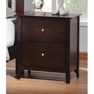 Alejandro 2 Drawer Nightstand by Charlton Home