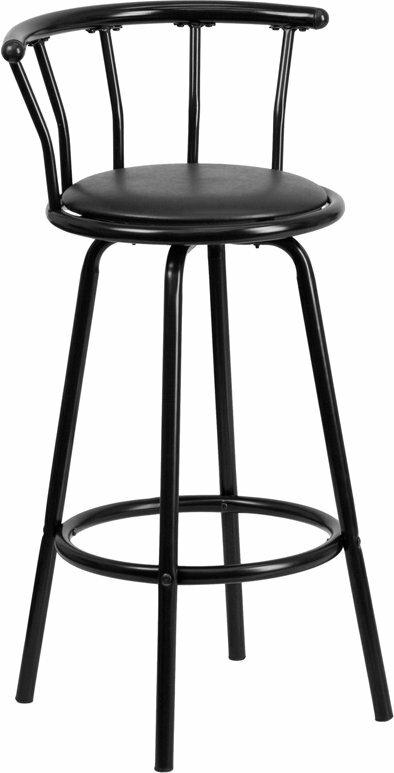 Ebern Designs Eberhard Crown Back Metal 30 Swivel Bar Stool Wayfair