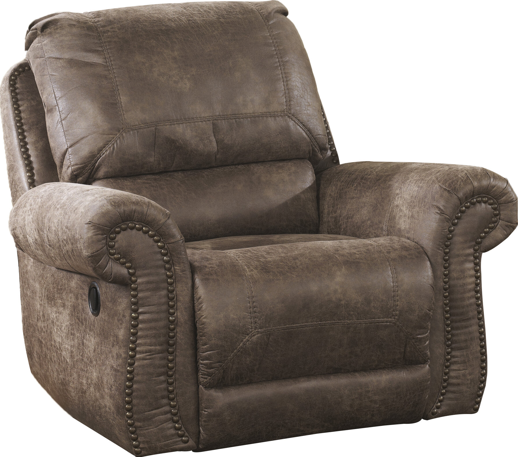 Signature Design By Ashley Evansville Manual Swivel Glider Recliner U0026  Reviews | Wayfair