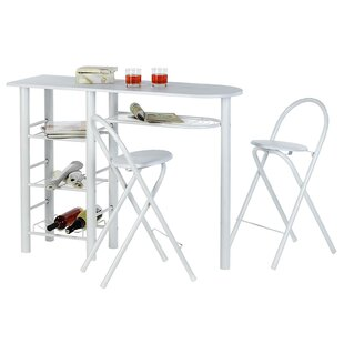 Avallone Bar Set With Wine Storage By 17 Stories