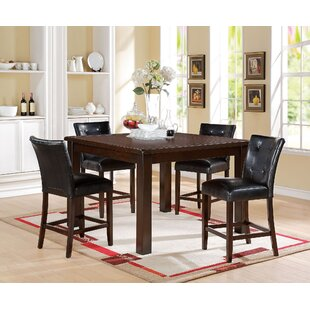 Koopman 5 Piece Counter Height Dining Set Red Barrel Studio