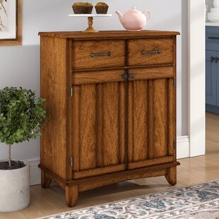 Ondine 2 Drawer Wood Server Andover Mills