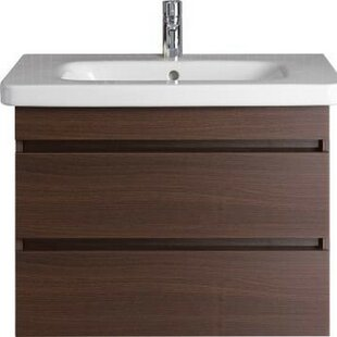 DuraStyle 29 Wall-Mounted Single Bathroom Vanity