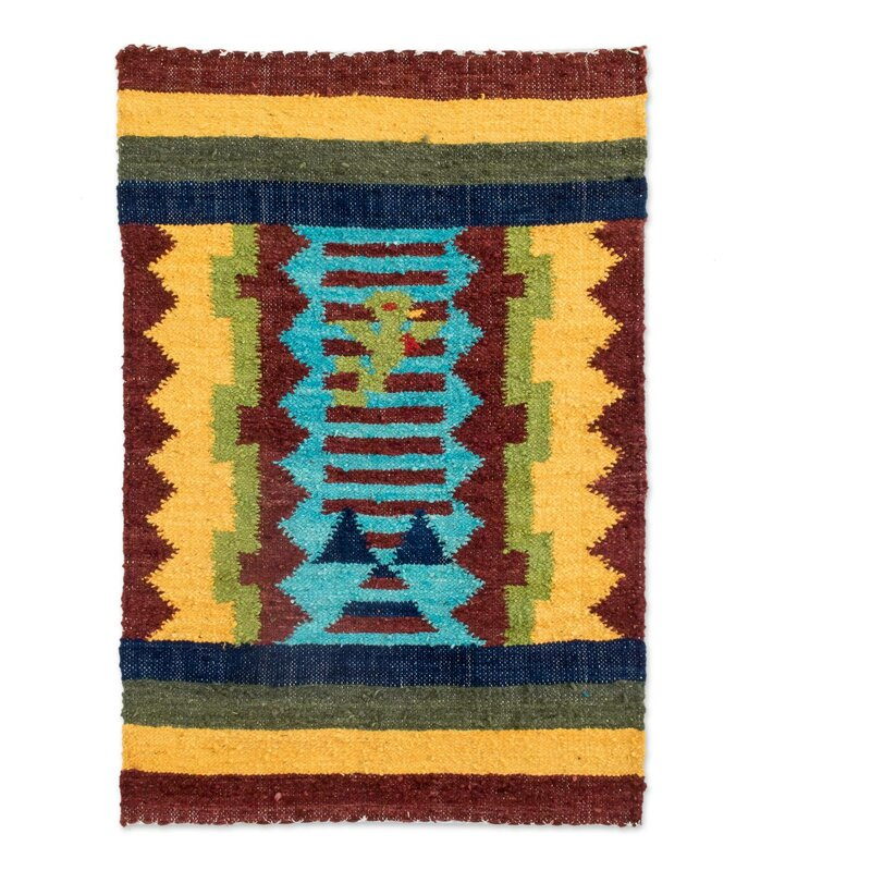 Handwoven Mat Guatemala