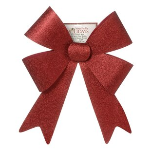 giant glitter christmas bow - Large Christmas Bows